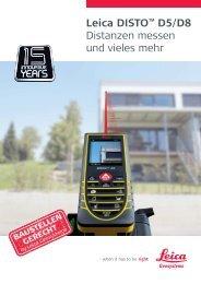 Leica DISTO™ D5/D8 - AM-Laser und Baugeräte Handels GmbH