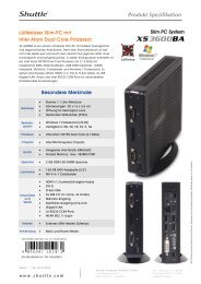 Produkt Spezifikation - Ingram Micro