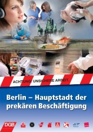 Berlin – Hauptstadt der prekären Beschäftigung - DGB Bezirk Berlin ...