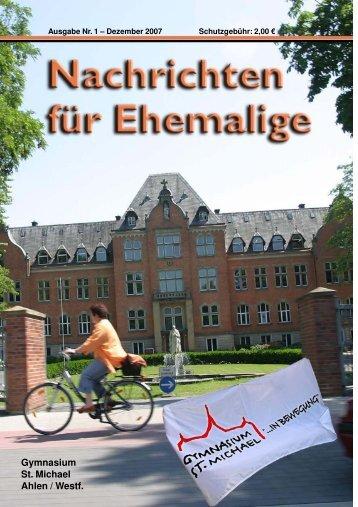 Aus der Geschichte von St. Michael - Ehemaligenverein Gymnasium ...