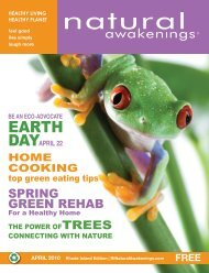 SPRING GREEN REHAB - Natural Awakenings Rhode Island - Home