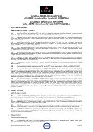GENERAL TERMS AND CONDITIONS of LOOMIS International ...