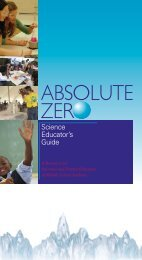 Science Educator's Guide - Society of Physics Students