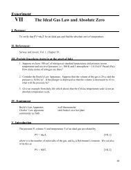 chemfile mini-guide to problem solving ideal gas law