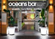 events functions parties - Oceans Bar
