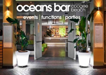 events functions parties - Oceans Bar & Ocean Tents u0026 Party Rentals