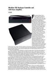502 & 509 Review (TAS) (68.7kb) - meridian-audio[.info]