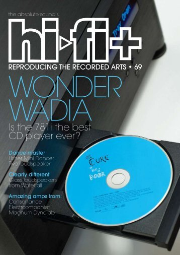 is the 781i the best Cd player ever? - Wadia Digital