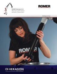 ROMER Absolute Arm Maximum performance ... - Prime Tech Sales