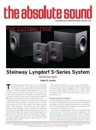 specs & pricing - Steinway Lyngdorf