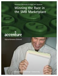 Winning the Race in the SMB Marketplace