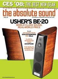 usher's be-20 world-class sound, real-world price - Usher Audio