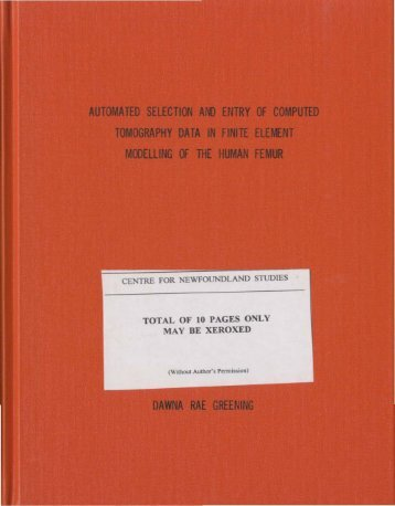 05 - Memorial University's Digital Archives