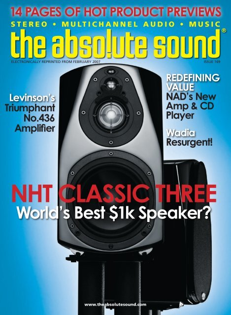 14 Pages of Hot Product Previews NHt cLassic tHree Nad's New ...
