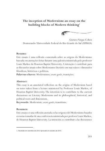 Building blocks of scientific study essay