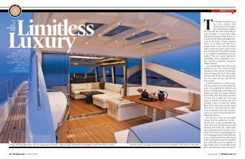 ABOARD ABSOLUTE'S NEWEST SPORT YACHT ... - Absolute Yachts