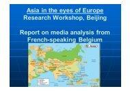 Belgium French - Media Analysis Report.pdf - Asia-Europe Foundation