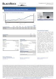 Factsheet,BSF BlackRock European Absolute Return Fund-A-EUR ...