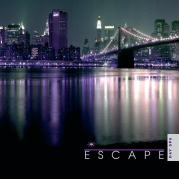 for the day - Escape Spa & Beauty