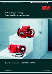 Drive Engineering – Practical Implementation ... - SEW Eurodrive