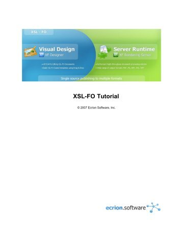 Fo designer 2. 10. Xsl-fo editor for apache fop and oracle apex.