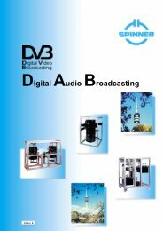 Digital Video Broadcasting, Digital Audio Broadcasting