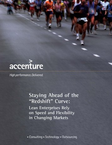 Staying Ahead of the .redshift. Curve: