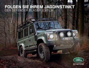 FOLGEN SIE IHREM JAGDINSTINKT - Land Rover