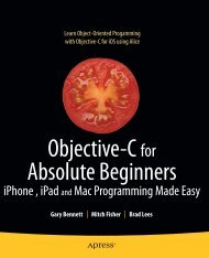 Objective-C for Absolute Beginners: iPhone and Mac Programming ...
