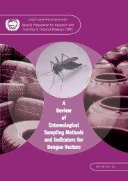 A Review of Entomological Sampling Methods and Indicators for ...
