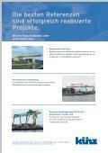 Trimodaler Containerkran Container Terminal ... - Hans Künz GmbH - Page 4