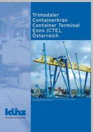 Trimodaler Containerkran Container Terminal ... - Kuenz America