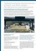 Automatische Containerkrananlagen für ... - Hans Künz GmbH - Page 2