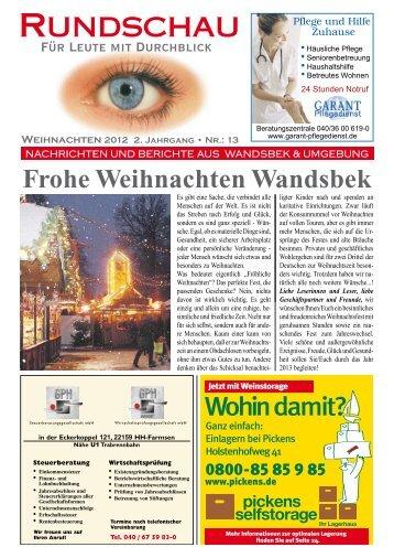 Wandsbek - Rundschau – Für Leute mit Durchblick