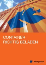 CONTAINER RICHTIG BELADEN - Hapag-Lloyd