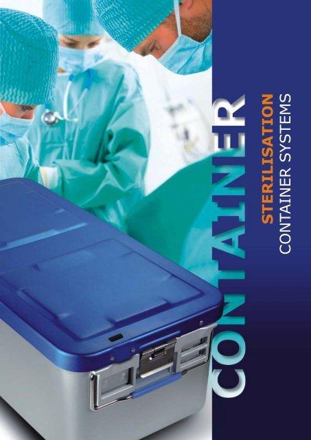 S TERILIS ATION CONTAINER SYSTEMS - Handke Medizintechnik