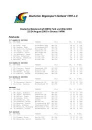 Deutsche Meisterschaft DBSV Feld und Wald 2003 23./24.August ...