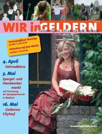 2009|April - WIR in Geldern
