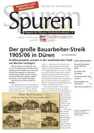 Zur Person: Karl Kreutzberg - Dürener Geschichtswerkstatt