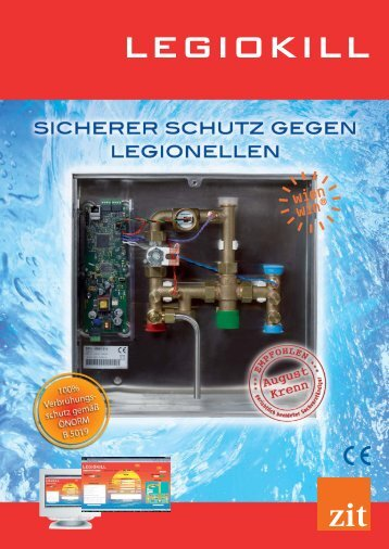 LEGIOKILL – die innovative Möglichkeit zur Abtötung von Legionellen
