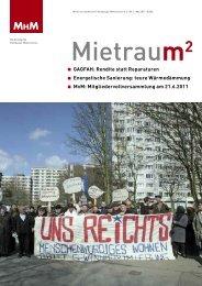 MHM-Zentrale - Mieter helfen Mietern Hamburg