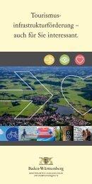 Als PDF herunterladen Tourismusinfrastrukturprogramm(pdf, 2 MB)