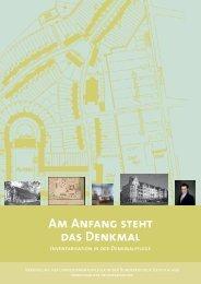 Am Anfang Steht Das Denkmal - Denkmalpflege-Forum