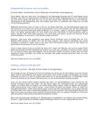 Presseberichte - Squash Club Achim-Baden