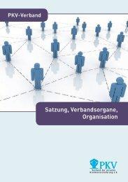 Satzung, Verbandsorgane, Organisation - PKV - Verband der ...