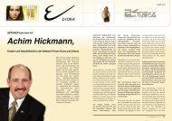 OBTAINER-Interview mit Achim Hickmann, Inhaber und ...