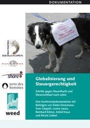 Globalisierung und Steuergerechtigkeit - Weed