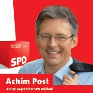 Kandidaten-Flyer - Achim Post