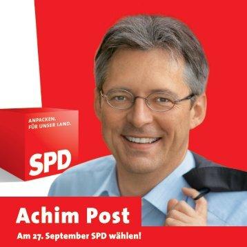 Kandidaten-Flyer - Achim Post