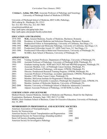 Resume md phd